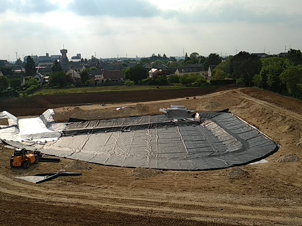bassin-paysager-etancheité-géomembrane-toury-1