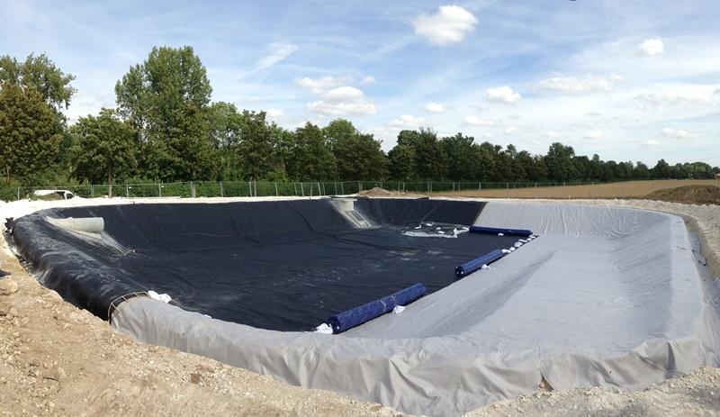 bassin geomembrane