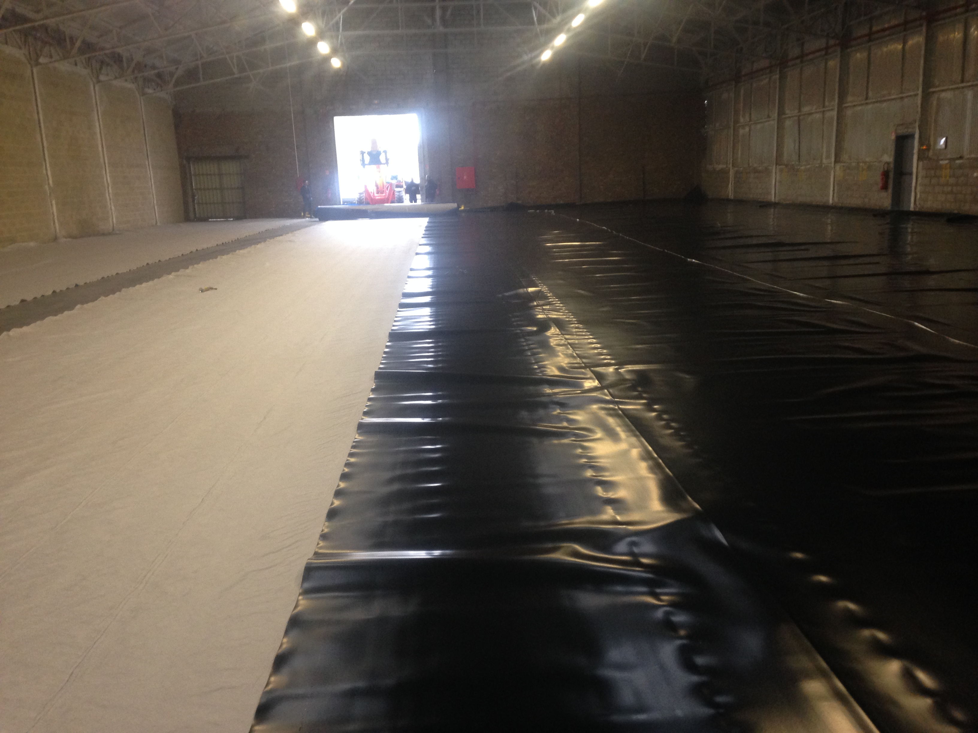 CONFINEMENT- DALLAGES - PROTERRA-ETANCHEITE - GEOMEMBRANE - (08) 2