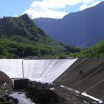 barrage étanchéité géomembrane
